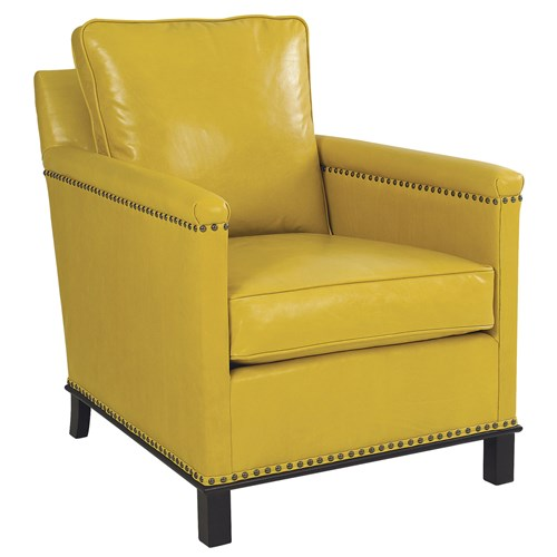 Gotham Leather Chair from Zinc Door