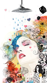 Brizo DreamShower Illustration