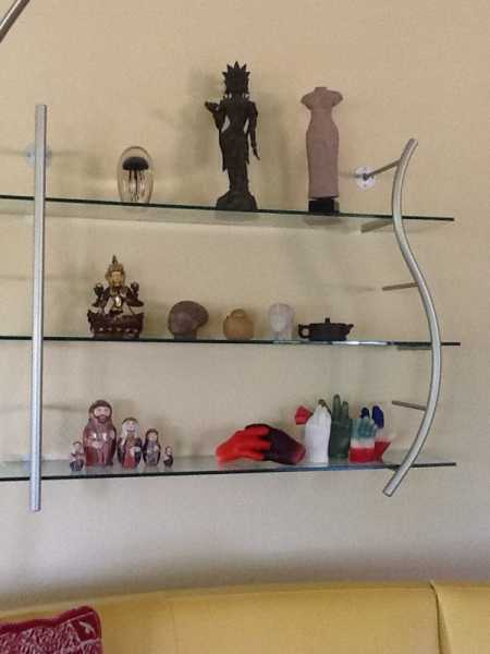 Shelf of Collectibles
