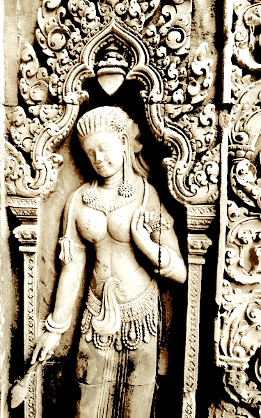 goddess in stone