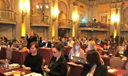 Blogging Tweeting and videoing, what time has wrought to the hallowed ballroom